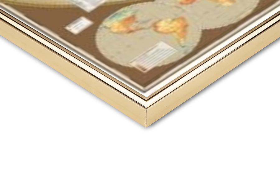 Póster  Mapa del mundo