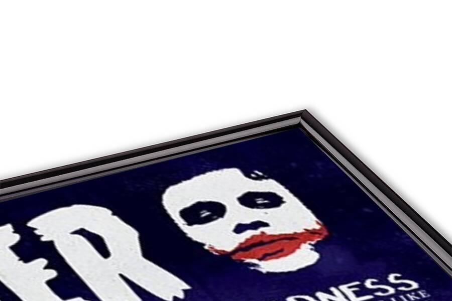 Póster Batman: El Caballero Oscuro - Joker Quotographic