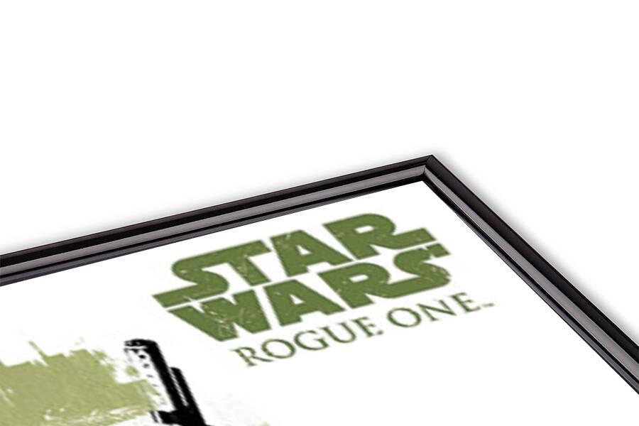 Póster  Rogue One: Una Historia de Star Wars - Jyn Grunge