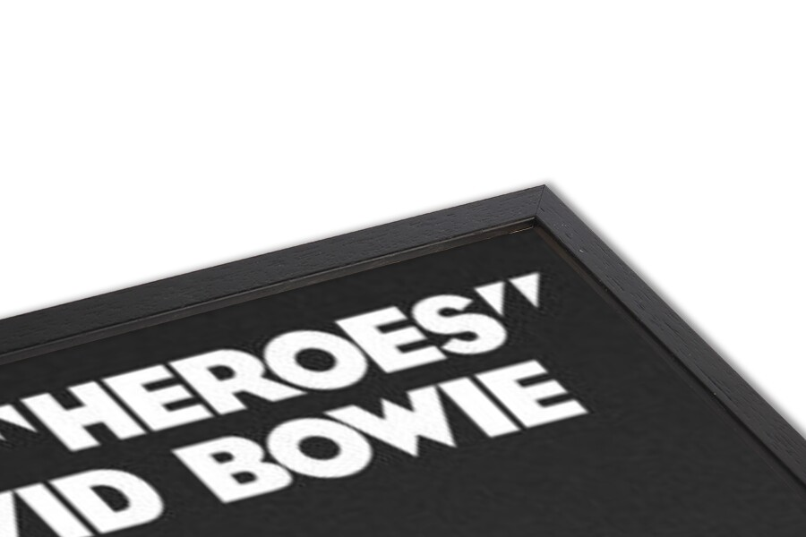 Póster David Bowie - Heroes