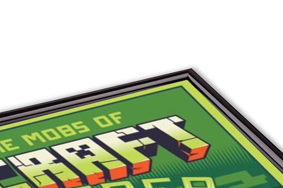 Póster Minecraft - Creepy Behaviour