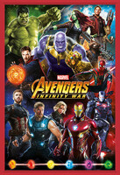 Póster enmarcado  Avengers: Infinity War – Characters