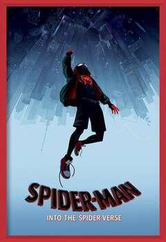 Póster enmarcado  Spider-Man: Un Nuevo Universo - Fall