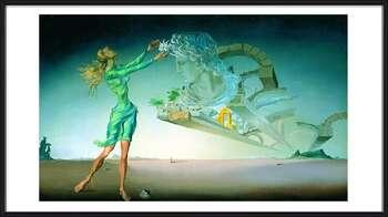 Póster enmarcado  Salvador Dalí – Mirage