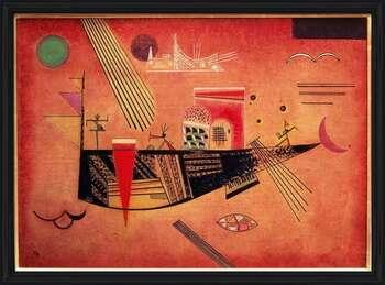 Póster enmarcado  Wassily Kandinsky - Whimsical