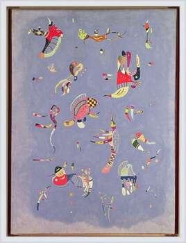 Póster enmarcado  Wassily Kandinsky - Sky Blue