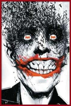Poster enmarcado BATMAN Comic - Joker Bats