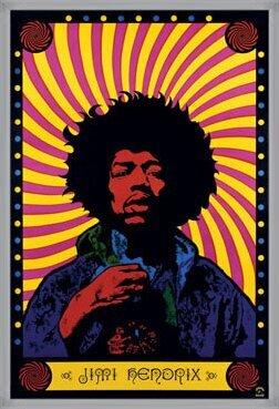 Póster Jimi Hendrix - psychedelic