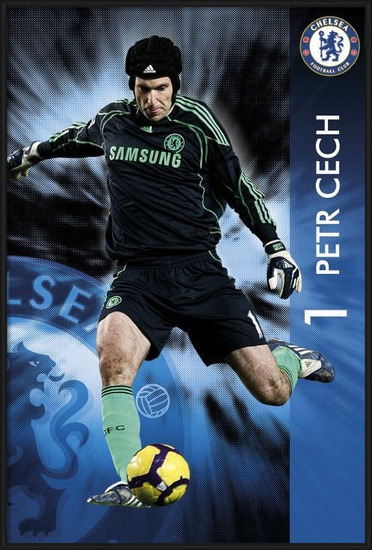 Póster  Chelsea - Petr Čech