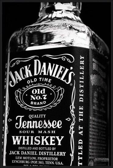 Póster  JACK DANIELS - bottle