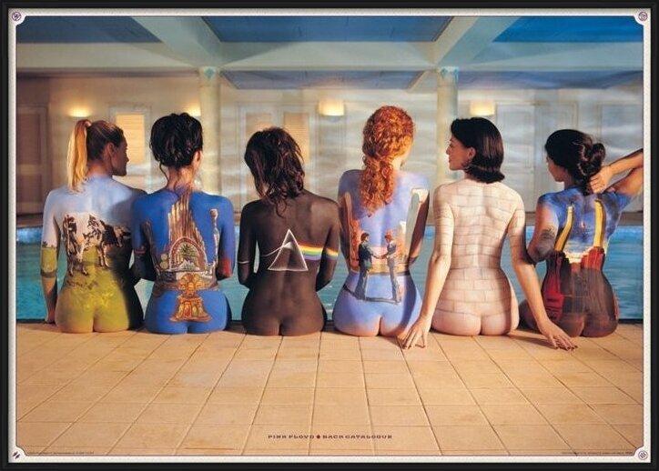 Póster Pink Floyd - back catalogue