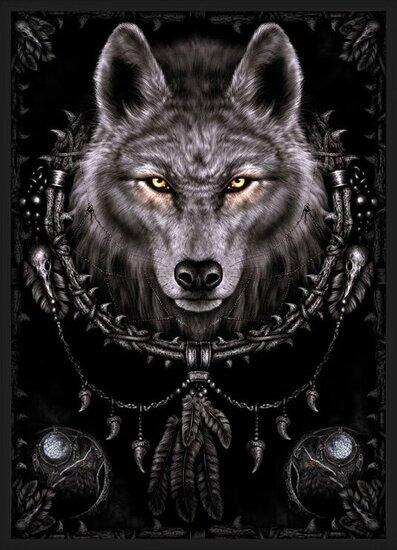 Póster  Spiral - wolf dreams