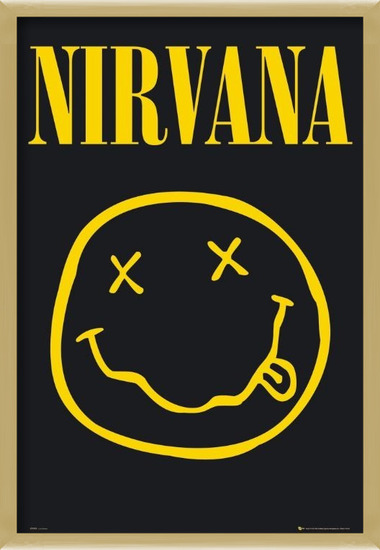 Póster  Nirvana – smiley