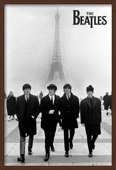 Póster  Beatles - in paris