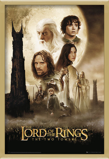 Póster Lord of the rings - two towers one sheet