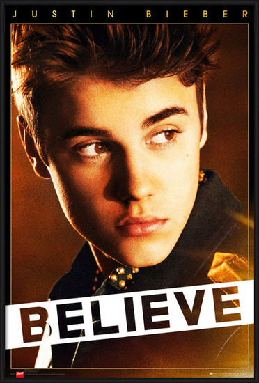 Póster Justin Bieber - believe