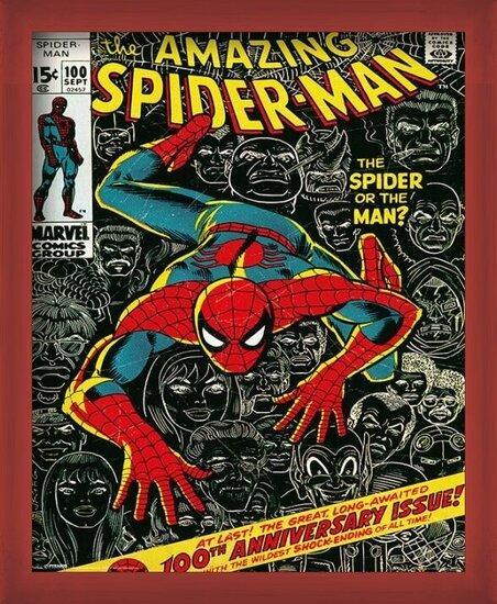 Póster MARVEL - spider-man cover