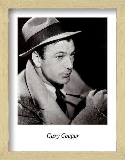 Reproducción de arte  GARY COOPER
