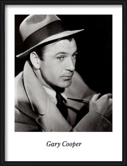 Lámina  GARY COOPER