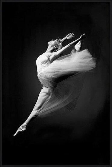 Póster  Ballerina - grace in motion