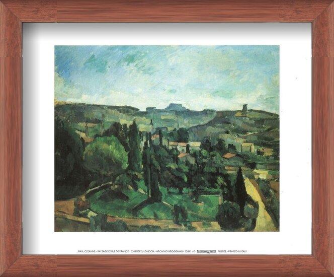 Reproducción de arte  Ile De France Landscape
