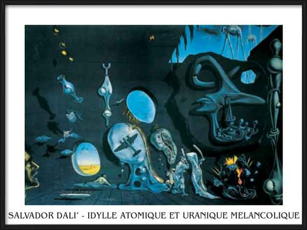 Reproducción de arte Melancholy: Atomic Uranic Idyll, 1945