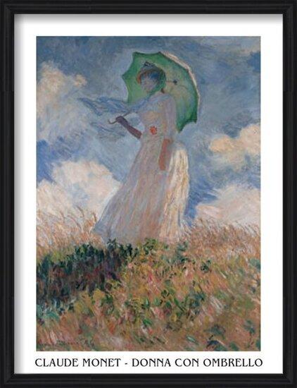 Reproducción de arte Woman with a Parasol