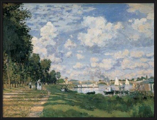 Reproducción de arte  The Seine Basin at Argenteuil