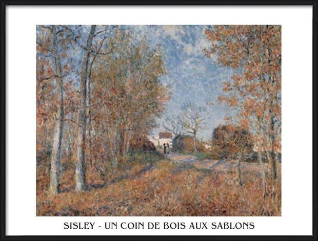 Reproducción de arte  Edge of the Forest in Sablons