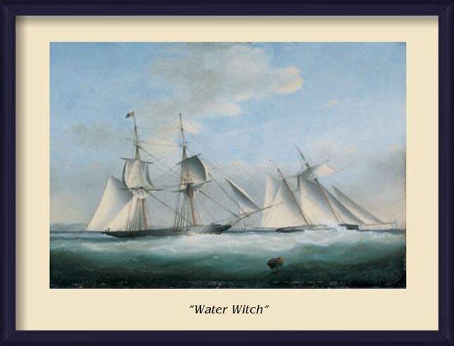 Reproducción de arte The Ship Water Witch