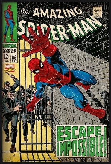 Póster  Spiderman - Escape Impossible
