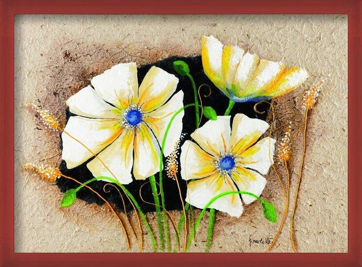 Reproducción de arte Anemone in frame