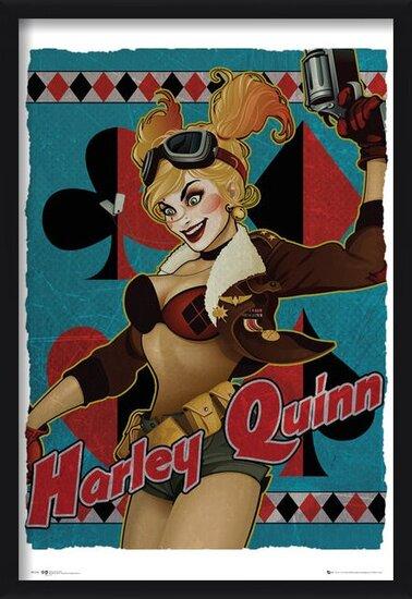 Póster DC Comics - Harley Quinn Bombshell