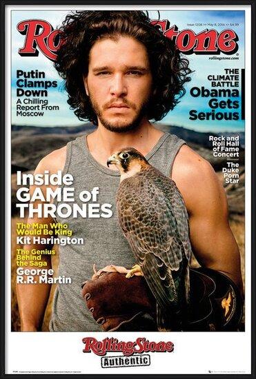 Póster  Rolling Stone - Game of Thrones Jon Stark