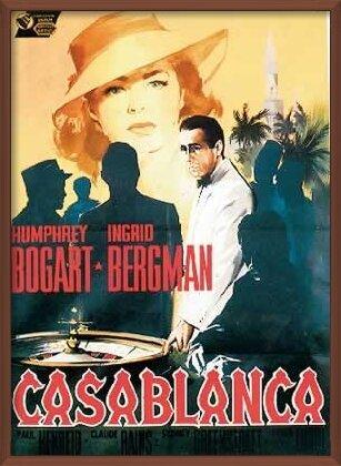 Póster Casablanca - Humphrey Bogart, Ingrid Bergman