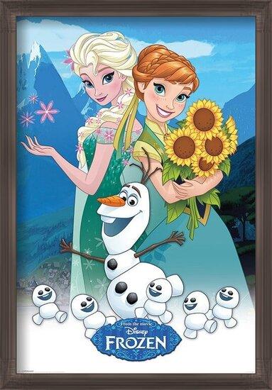 Póster Frozen, el reino del hielo - Fever