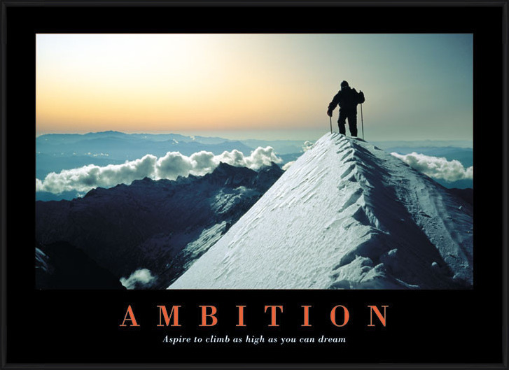 Póster Ambition