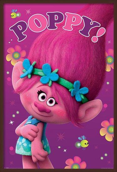 Póster Trolls - Poppy