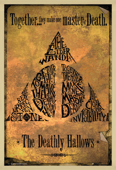 Póster  Harry Potter - Deathly Hallows
