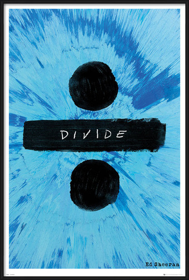 Póster  Ed Sheeran - Divide