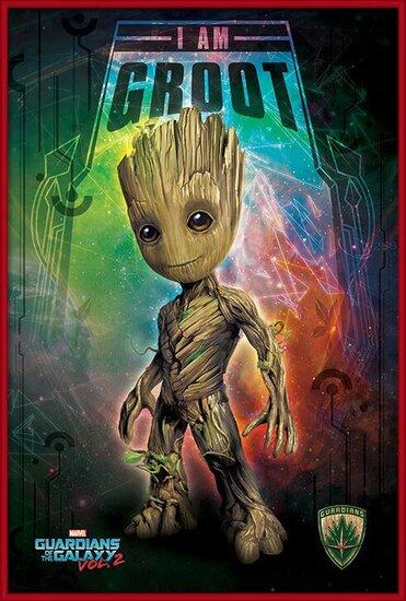 Póster  Guardianes de la Galaxia Volumen 2 - I Am Groot
