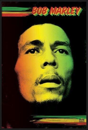 Póster  Bob Marley - face
