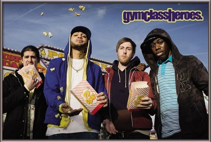 Póster  Gym Class heroes - popcorn