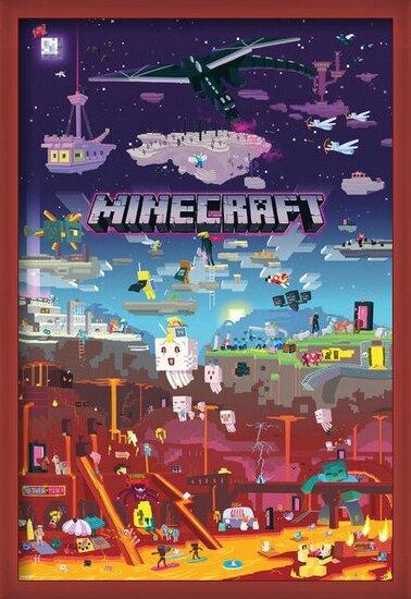 Póster  Minecraft - World Beyond