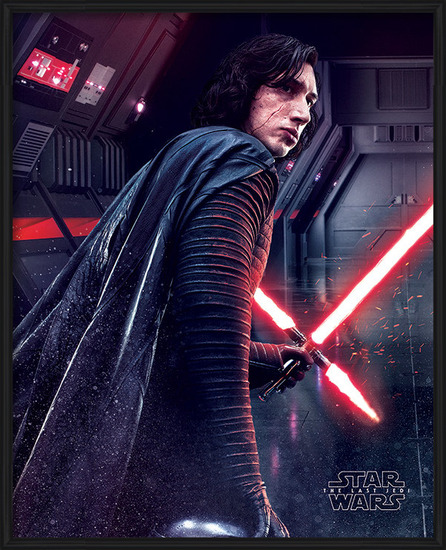 Póster  Star Wars: Episodio VIII - Los últimos Jedi- Kylo Ren Rage
