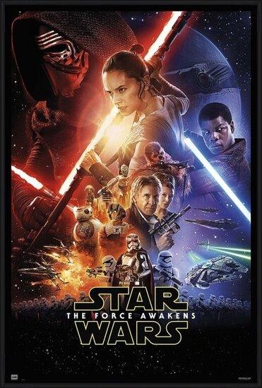 Póster  Star Wars VII - One Sheet