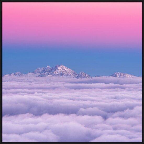 Arte fotográfico Pink in the sky