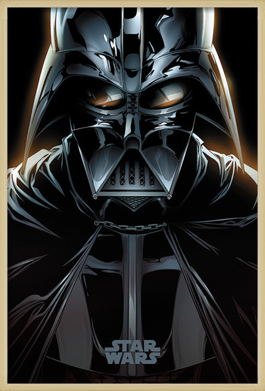 Póster Star Wars - Vader Comic