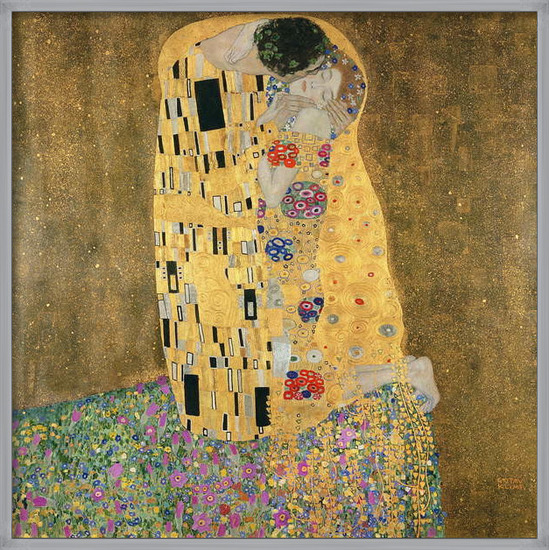 Reproducción de arte  The Kiss, 1907-08