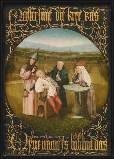 Reproducción de arte  The Cure of Folly, c.1494